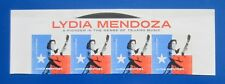 Sc # 4786 ~ Header Strip of 4 ~ Forever Stamp, Lydia Mendoza Issue (bh31)