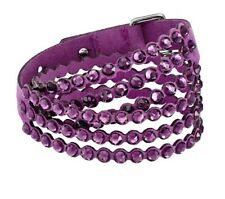 SWAROVSKI POWER COLLECTION BRACELET PURPLE 5511699 New