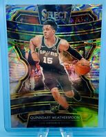 Quinndary Weatherspoon 2019-20 Panini Select CONCOURSE SCOPE PRIZM RC SPURS