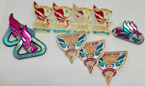 1992 - 1995 Kentucky Derby Festival Pegasus Pin Lot of 10 Great Condition! Rare!