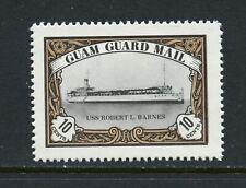 Y374 Guam Guard Mail 1981 Local Post U.S.s. Robert L. Barnes ship 1v. MNH