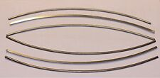 2 x Titan Gr. 5 Halbrund gebogen dia 4 mm/Ti Gr. 5 Half Round dia 4 mm bended