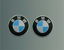 n°2 PATCH BMW PATCH EMBROIDERED THERMOADHESIVE embroidery cm 5