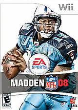 Madden NFL 08 - Nintendo Wii Nintendo Wii, Nintendo Wii Video Games