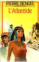 Livre l 'atlantide Pierre Benoit book