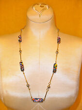 Mille Fiori Station Necklace