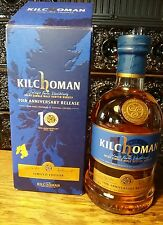Kilchoman 10th Anniversary, 58,2%, 0,7l Rarität Nr.443/3000 Single Malt Whisky