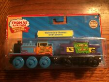 Halloween Thomas & Caboose LC98056 Thomas Wooden Railway System New in Pkg.