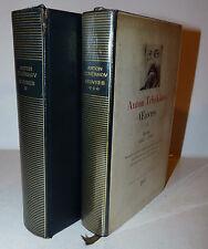 Anton Tchekhov Cecov: Oeuvres vol. I e III - Opere 1967 La Pleiade ex libris