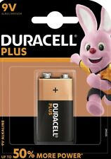 4 x Duracell Plus Power 9V Block MN1604 E-Block 6LR22 Batterie - Blister