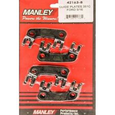 "Manley 42163-8 Guideplate Ford 302 Boss 351 Cleveland 5/16"" Pushrods Set of 8"