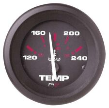 "Sierra Amega Signature Series Gauge 2"" Water Temperature Kit I/O - 57904P"