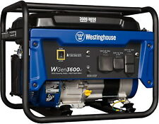 Westinghouse 4650 W Quiet Portable Rv Ready Gas Powered Generator Home Backup