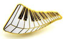 Pin Spilla Tastiera Pianoforte cm 3,2 x 1,7 - (AIM PGHPA USA) - (Cod. M121)