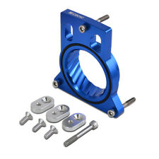 For GMC Sierra 1500 2500 4.3 4.8 5.0 5.3 6.0L Blue Throttle Body Spacer Billet