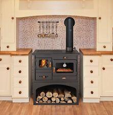 Cucina a legna Prity 1p34 - Vig98115-40 Antracite