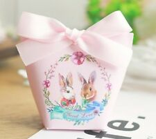 Bunny Gift Box Packaging Gifts Box Cute Easter Rabbit Party Paper Candy Box
