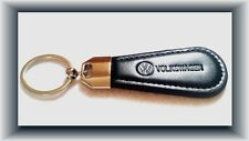 Volkswagen VW Leather Keychain Decent Key Ring with Gift Pouch