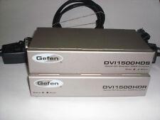 Gefen DVI over Fiber Extender Sender and Receiver EXT-DVI-1500HD - Used