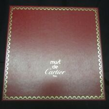 """Large  GENUINE CARTIER Box with Smaller Box Insert BOX ONLY 13"""" x 13"""" (i7)"""
