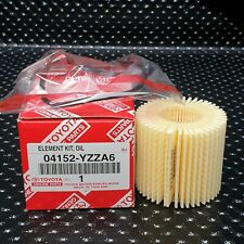 GENUINE TOYOTA OIL FILTER PRIUS AURIS CT200H VERSO PRIUS PLUS ALPHA 04152-YZZA6