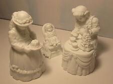 Department 56 Winter Silhouette Christmas Tea White Porcelain MIB 78575