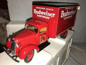Danbury Mint 1:24 1937 Chevrolet Budweiser Delivery Truck W/Paperwork