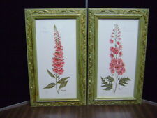 Lyndi Lende print Signed FLORAL SET OF 2 Limited Edition Print numbered