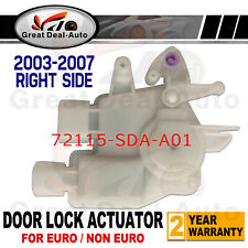 DOOR LOCK Actuator FOR Honda Accord 2003-2007 CL CM Front / Rear Right 4 Door