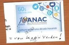 Kap Verde MiNr 1048 10 anos ANAC - Telekommunikation Satellit Smartphone Telefon