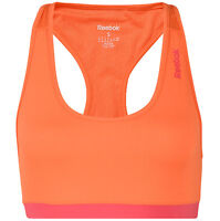 New Reebok Sports Bra Vest Top - Ladies Womens - Running Gym Training Fitness