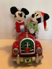 Gemmy Disney Mickey & Minnie Mouse Car Holiday Travel