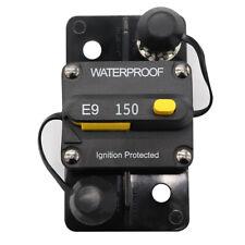 Circuit Breaker 150Amp Manual Reset Circuit Breaker Waterproof for Car Truck Rv
