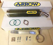 APRILIA RS 125 Kevlar Silencieux phrase Arrow 2-Trou Race exhaust muffler i2551