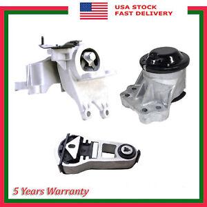 3PCS Engine Motor & Automatic Transmission Mount For Ford Explorer 3.5L V6 11-19