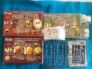 28mm Greek Hoplites & Peltasts still on sprue - Victrix miniatures