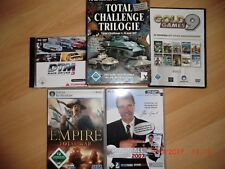 PC Spiele DTM Handballmanager Empire Total War Goldgames 9 Total Challange 1 2 u