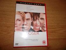 CLOSER DVD, Natalie Portman, Jude Law, Cert 15, very good condition