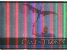 Game Of Thrones Season 3 Foil Parallel Base Card  12 And Now His Watch Is Ended