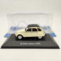 1/43 IXO Citroen 3CV IES Super America 1987 beige Diecast Models Limited Edition