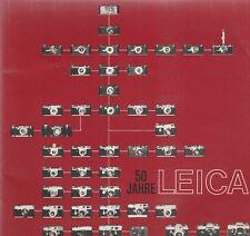 LEICA 50 JAHRE GERMAN MANUAL(1974?)