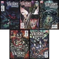 Venom Dark Origin Comic Full Set 1-2-3-4-5 Lot Spider-Man symbiote Eddie Brock