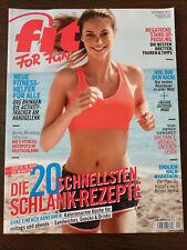 Fit For Fun / Fitness Magazin // Heft September 2013