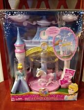 2006 MATTEL DISNEY PRINCESS ENCHANTED PLAYGROUND CINDERELLA CASTLE CAROUSEL
