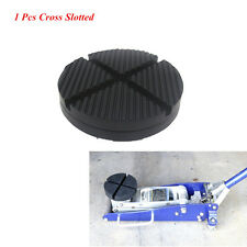 1 x Cross Slotted Frame Rail Floor Rubber Pad Adapter For Pinch Weld Side JACKPA