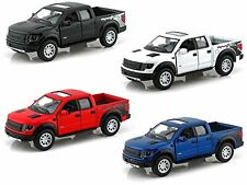 "Kinsmart Set of 4: 5"" 2013 Ford F-150 SVT Raptor SuperCrew 1:46 diecast model"