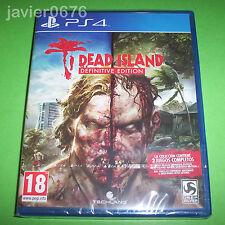DEAD ISLAND DEFINITIVE EDITION NUEVO Y PRECINTADO PAL ESPAÑA PLAYSTATION 4 PS4