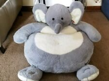Kids Plush animated singing Elephant Chair Toddler Hammacher Schlemmer Benjamin