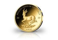 Goldmünze Motiv Krügerrand Springbock 2020