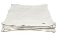 1 Dozen - 12 x 12 White Value Washcloths Rags Bath/Craft/Kitchen/Garage/Face